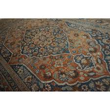 antique persian carpet tabriz haji jalili made in iran antique carpet 175 x 135 cm