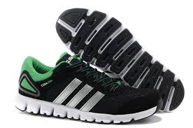 adidas running shoes for men. adidas cumacool running shoes men black green for travel