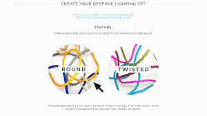 design your own lighting. For This Example, Let´s Pick The Round Cable. Design Your Own Lighting