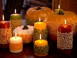 Simple Candle Decoration Get Your Simple Homemade Thanksgiving Decorations