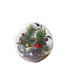Mercury Glass Globes With Lights Art Artifact Led Lighted Glass Holiday Orb Hand Blown Glass Globe Seasonal Decor Battery Operated Medium