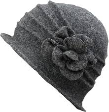 ZUMUii Butterme <b>Women's</b> Winter <b>Elegant Flower</b> Wool Cap Beret ...