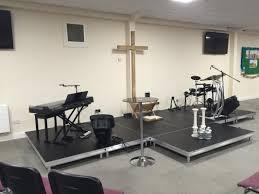 Church Stage Platform Design Church Stage Platforms