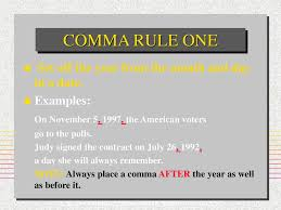 Commas Control Meaning Learn The Comma Rules Control
