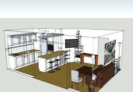 Concept Diy Cuisine Ouverte Sur Salle A Manger Raver Et Salon Plan De S