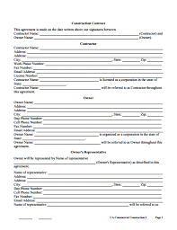Permalink to Building Contract Agreement Format / Free Construction Contract Template Pdf Templates Jotform : A construction contract is a mutual or legally binding agreement between two parties based on policies and conditions recorded in document form.