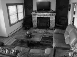 White Shabby Chic Living Room Furniture Modern Black And White Living Room With Brown Accent Interior