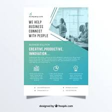 Business Flyer Template Free Download Professional Business Flyer Template Free Vector Print