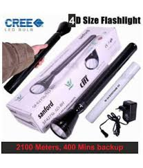 Sanford Torch Light Price In India Sanford 6w Flashlight Torch Sf4127sl 4d 2100 Meters