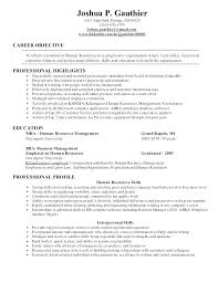 Manager Resume Templates Interesting Human Resource Supervisor Resume Human Resources Resume Examples