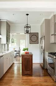 atlanta narrow kitchen islands with stainless steel gas and electric ranges transitional subway tile small island