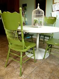 Kitchen Chair Painted And Distressed Green Kitchen Chairs See Cate Create