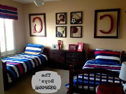 Sports Decor For Boys Bedroom Kids Room Boys Bedroom Decorating Ideas Sport Baseball Theme