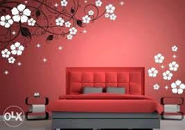 geometric wall design wall painting designs for bedroom inspiring nifty image of geometric wall design bedroom