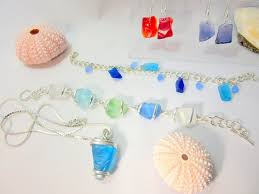 cape cod beach jewelry beach gl jewelry from locally sourced beach gl