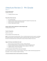 Concept Mapping to write a literature review SlidePlayer
