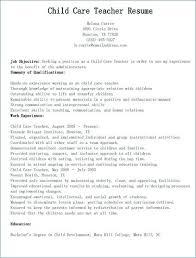 Child Care Resume Inspiration Child Care Resume Daycare Teacher Cute Now Childcare Cv Template Uk