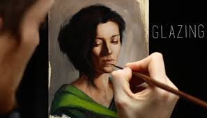 glazing oil painting techniques step by step demonstration