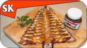 Kitchen Christmas Tree Nutella Christmas Tree Tear And Share Bread Youtube