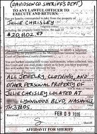 Clothing From Scoop Julie Of Jewelry Seize Order amp; Sheriff Served To – Worth 20k Nashville Chrisley