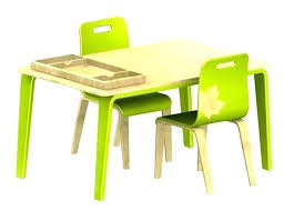 Childs Wooden Table And Chairs Set Wood Desk Kids Furniture Childrens