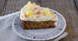 Moist Carrot Pineapple Cake