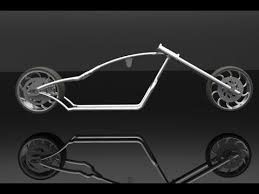 design and development of a chopper bike frame youtube
