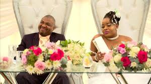 How cute is Ivy and Lucas's outfit #OurPerfectWedding | News365.co.za