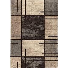 orian rugs plush pile blocks armada gray area rug 5 3 x 7 6