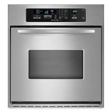 Electric Wall Oven 24 Inch Shop Kitchenaid Architect Self Cleaning Convection Single Electric