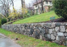 natural stone retaining wall natural stone retaining wall