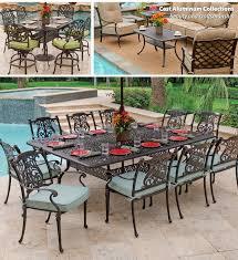 incredible aluminum patio table set ideas aluminum outdoor aluminum cast iron patio furniture
