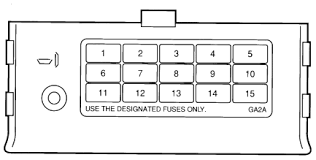 ford probe fuse box diagram ford wiring diagrams