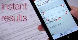 photomath app solves math problems via phone