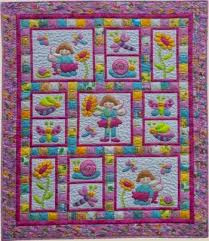 382 best kid's quilt images on Pinterest | Patchwork, Appliques ... & Pixie Girl - by Kids Quilts - Quilt Pattern Adamdwight.com