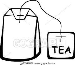 tea bag clipart. Fine Bag Vector Tea Bag Black Pictogram For Tea Bag Clipart B