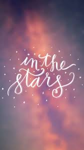 Calligraphy Backgrounds Bokeh Calligraphy In The Stars Iphone Wallpaper Background