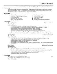 Hair Stylist Resume - Resume Sample