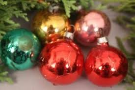 Details Zu Christbaumschmuck Weihnachtskugeln Klein Bunt Rot Gold Grün Glas Weihnachten