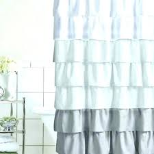 dark gray shower curtains ruffle curtain accessories the home depot with grey linen