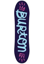Burton Chicklet Size Chart Burton Chicklet 80cm Snowboard For Kids Girls Multicolor