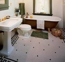 black and white hexagon tile bathroom floor black white hexagon tile l19 tile