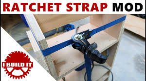 ratchet strap to strap clamp easy