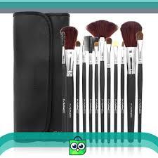 jual murah angel brush set mac isi 12 pcs kuas make up makeup