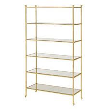 amazon clic hollywood regency gold leaf eere display bookcase home kitchen