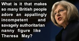 Image result for theresa may fascist