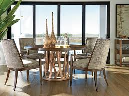 Zavala Horizons Round Dining Table Lexington Home Brands - Round dining room furniture