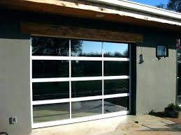 exotic glass garage doors cost glass overhead doors garage cost a door commercial s g glass garage door s canada