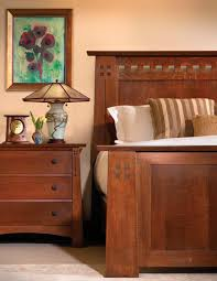 Mission Style Bedroom Furniture Stickley Mission Oak Cherry Collection Cherries And Bedrooms