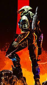 Halo x Doom Wallpaper 4k Mobile sans ...